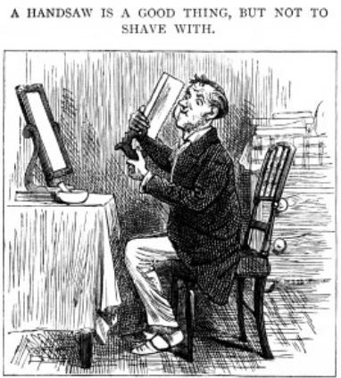 Handsaw shaving